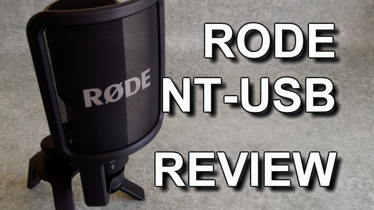 review rode nt usb microphone youtube. Black Bedroom Furniture Sets. Home Design Ideas