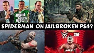 Upcoming Games On Jailbroken Ps4? #GS11.