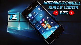 Windows 10 mobile sur le nokia Lumia 625(Windows 8.1 vous dérange avec ses grands caractères ? Alors installer le windows 10 plus simple et plus organisé :), 2016-05-25T19:23:22.000Z)