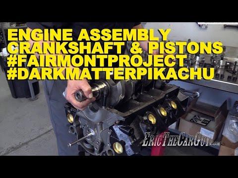 Engine Assembly Crankshaft & Pistons #DarkMatterPikachu #FairmontProject