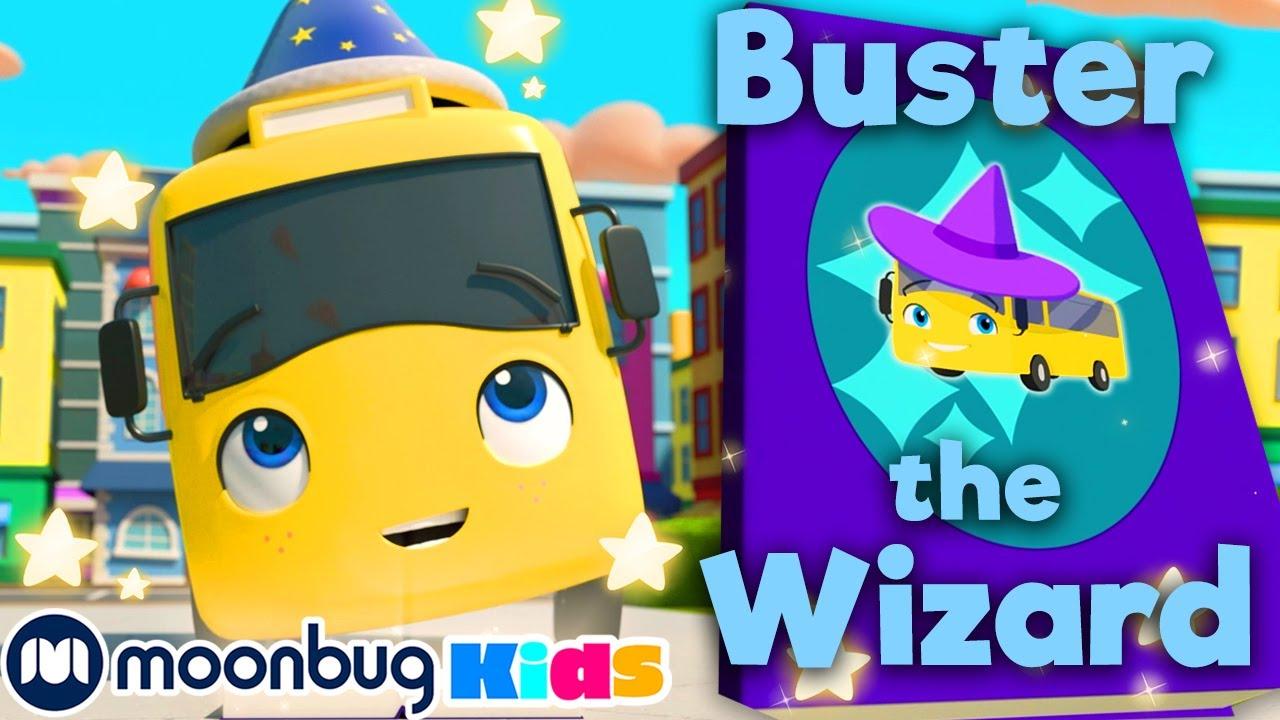 Buster the Wizard - Magic Spell Book | Go Buster! | Kids Songs | Nursery Rhymes | Sleep Baby Songs