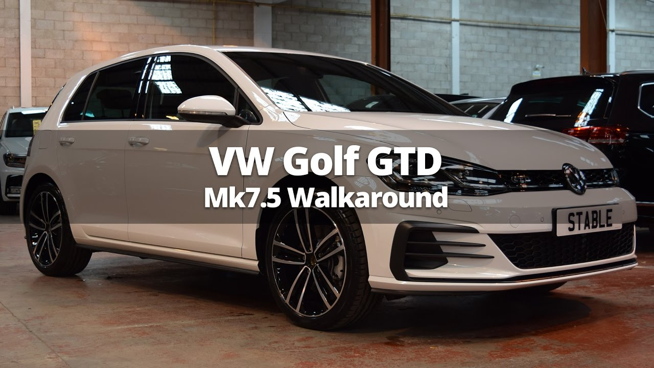2018 volkswagen golf gtd mk7 5 walk around youtube. Black Bedroom Furniture Sets. Home Design Ideas