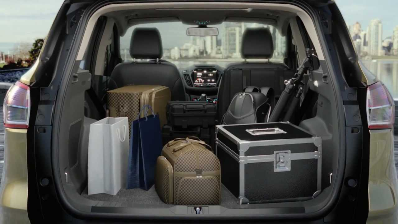 | 2013 Ford Kuga/Escape | Cargo Capacity | Capacitate ...