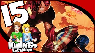 MARVEL ULTIMATE ALLIANCE 2: Part 15 Ryker's Island (Co-op) Walkthrough