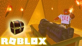 This EVIL Mummy Monster Is Actually VERY Friendly! (Roblox Egypt Trip)