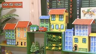 How to make QUEITBOOK PAPER DOLLHOUSE