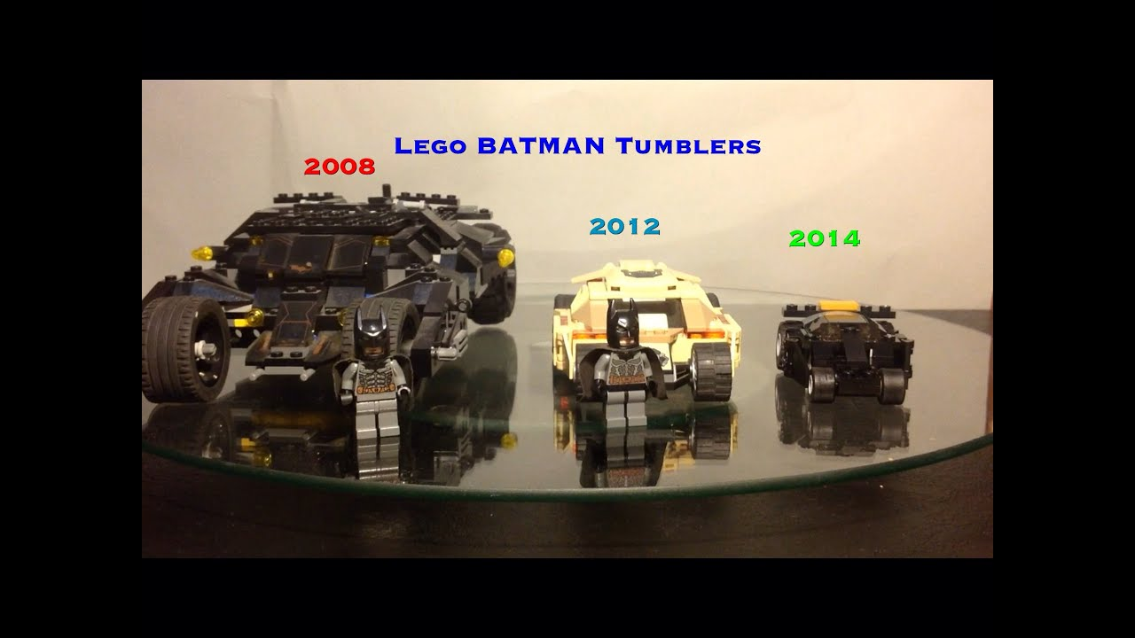 lego batman tumbler comparison 2008 vs 2012 2014 7888. Black Bedroom Furniture Sets. Home Design Ideas