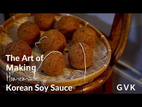Homemade Korean Soy Sauce