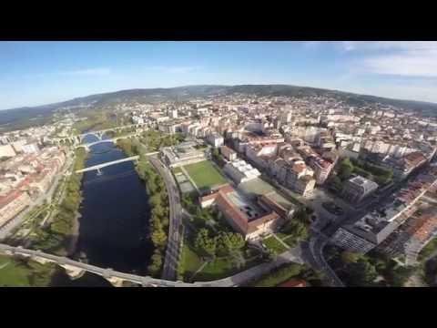 Ourense desde el aire