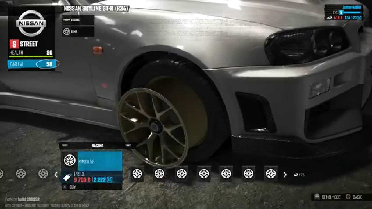 Ps4 The Crew Nissan Skyline Gtr R34 Customization Youtube