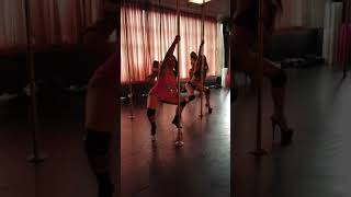 Pole Grooves with Billie Brooklyn week 7 rehearsals - Bad at Love