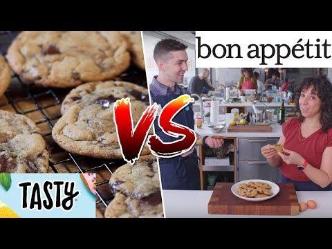 Chocolate Chip Cookies Tasty VS Bon Appétit- Buzzfeed Test #169