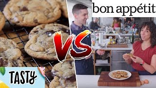 Chocolate Chip Cookies Tasty VS Bon Appétit- Buzzfeed Test #169