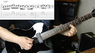 How to play solo from Hello by Lionel Richie | Guitar Lesson + Tabs