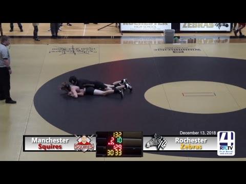 Rochester Varsity Wrestling vs Manchester