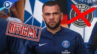 OFFICIEL : Dani Alves annonce qu'il quitte le PSG | Revue de presse