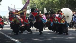浜松学生連 鰻陀羅~かける~豊川おいでん祭り2016 郵便局前