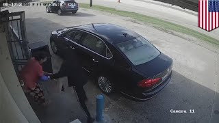 Robbery: Thieves try to snatch $75,000 from Texas woman - TomoNews