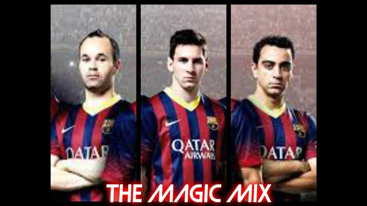 Messi iniesta xavi the magic trio 2013 youtube voltagebd Image collections
