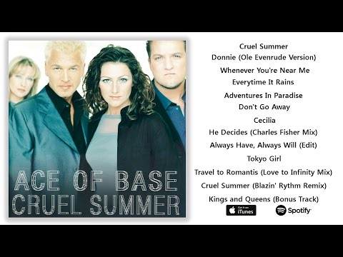 Ace of Base  Cruel Summer 1998 Full Album
