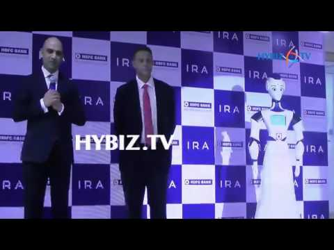 HDFC Bank Launches Interactive Humanoid | Intelligent Robotic Assistant | Chennai