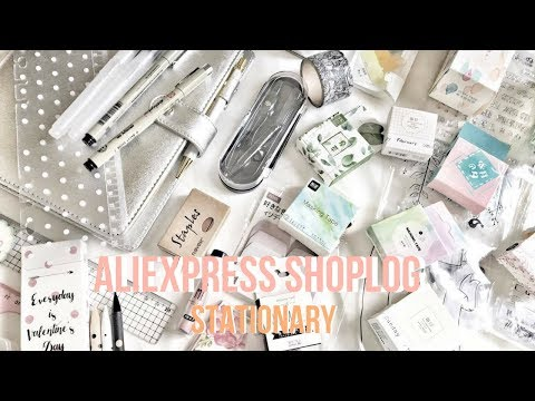 XXL ALIEXPRESS stationery shoplog (+ 50 items)  | Felia Goov