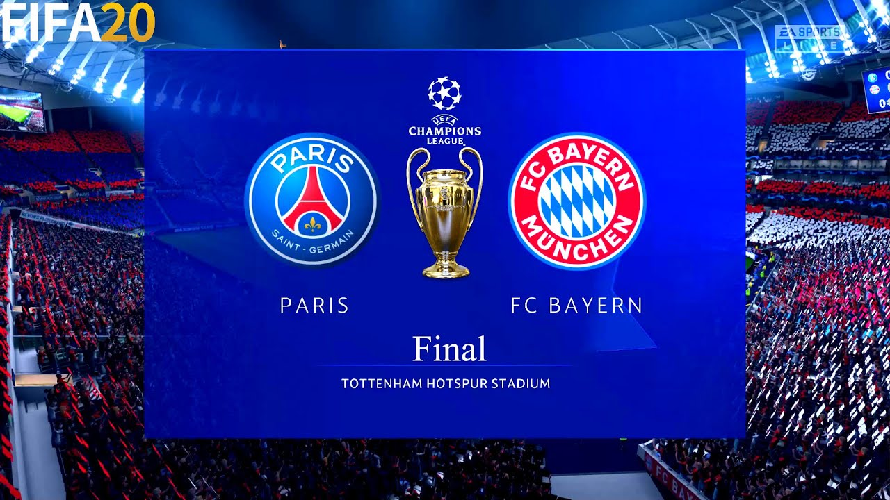 Fifa 20 Psg Vs Bayern Munchen Final Ucl Uefa Champions League Full Match Gameplay Youtube