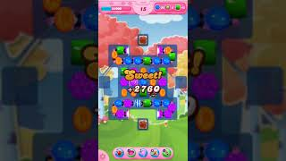 Candy Crush Saga Level 1696 - No Boosters