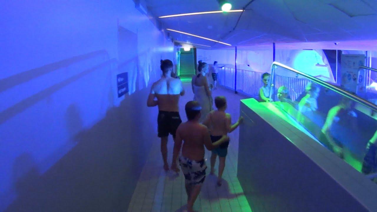 led river water slide at kokpunkten youtube