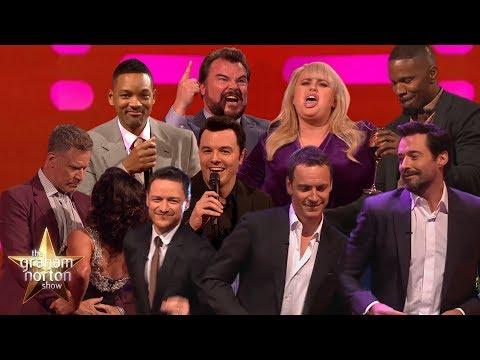 Celebrities Singing & Dancing on The Graham Norton Show!
