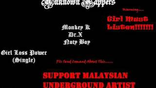 New Malaysian Tamil Song - Girl Loss Power (Single) - Unknown Rappers.wmv