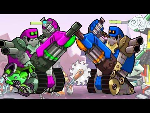 Tower Conquest взлом - игра как мультик - для детей - Td - Flavios #47 - Мультик для детей