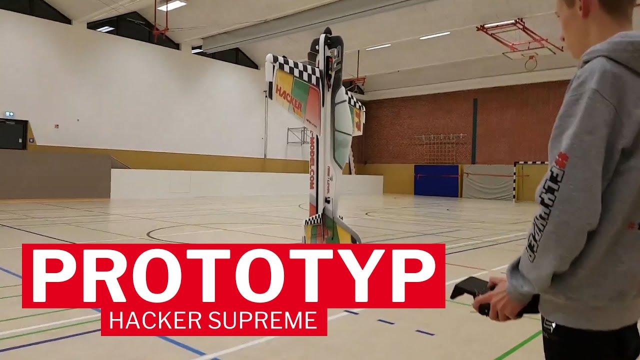 HACKER SUpreme Shockflyer | Max Chrubasik testet den Prototypen