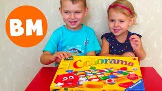 Игры для детей Колорама Colorama Цвета и Формы | Colorama Shapes and Colors Game