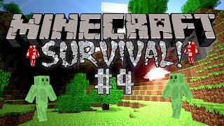 """Minecraft"" Multiplayer Survival Series #4 - ""Secret Base Plans!"" w/JG And Friends!"