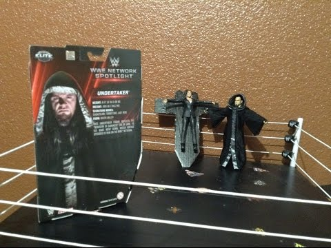 WWE NETWORK SPOTLIGHT ELITE UNDERTAKER | WWE MATTEL ELITE ACTION FIGURE REVIEW