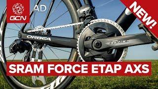 New Tech! Sram Force Etap Axs - Detailed & Demoed