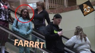 WET Farts on the Escalator WORLD RECORD Prank!! Nowhere to run!! Sharter Saturdays S1•Ep 32!!