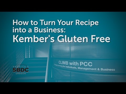 How to Turn Your Recipe into a Business: Kember's Gluten Free