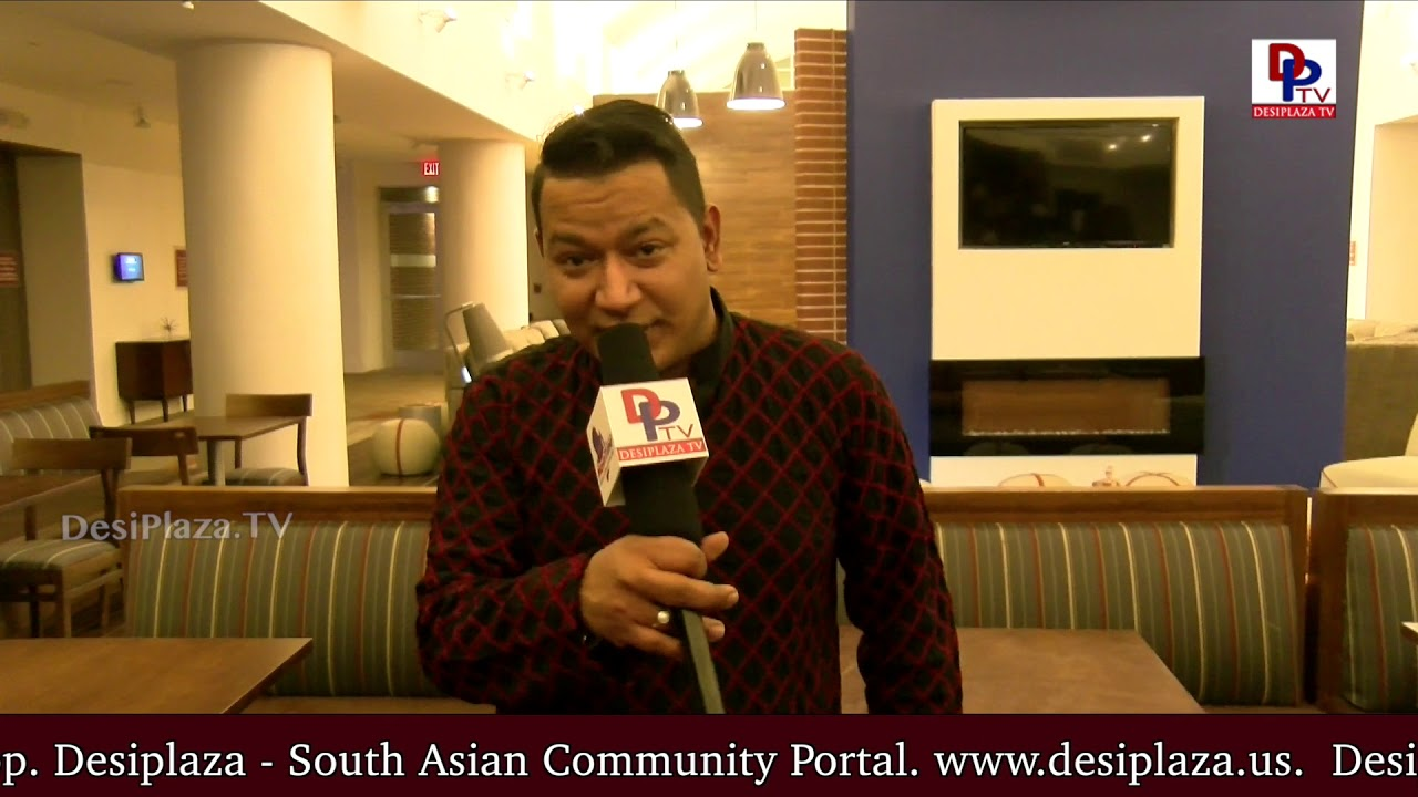 Sumeeth Marvin thanks DPTV media and the Indian Community for enormous support to the LIVE Concert
