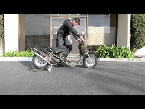 DROWsports Honda Ruckus Two Stroke Swap