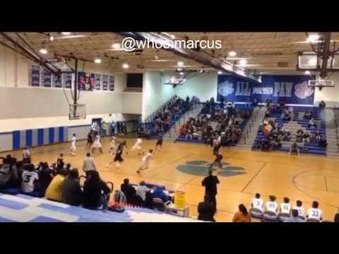 MASSAPONAX HIGH SCHOOL BASKETBALL FUNNY ANKLE BREAKER