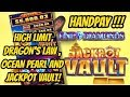 JACKPOT HANDPAY-WHICH GAME?