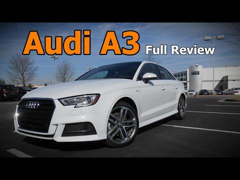 2017 Audi A3 Sedan: Full Review | Premium, Premium Plus & Prestige