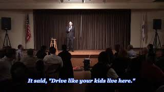 Daniel Steinberg - Comedian: Drive Like Your Kids Live Here