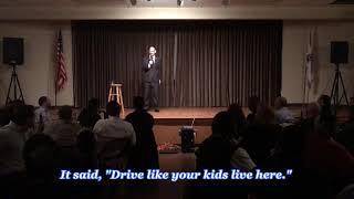 Daniel Steinberg - Comedian: Drive Like Your Kids Live Here