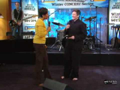 KD Lang Olympics interview & Hallelujah real video.