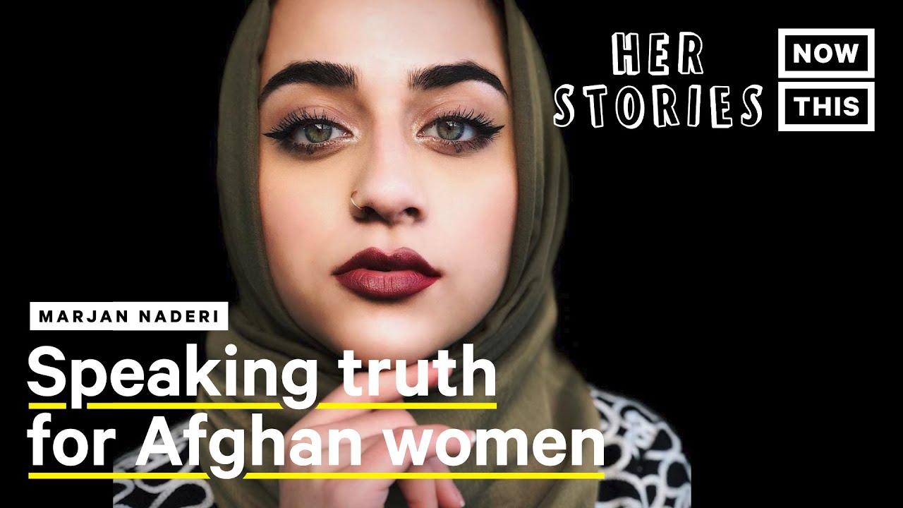How Marjan Naderi Tells the Stories of Muslim Americans Through Slam Poetry   NowThis