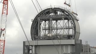 Над БВ-3 АЭС ''Фукусима'' возводят защитный купол