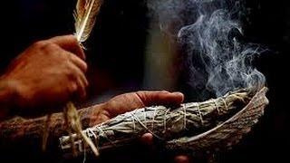 Smudging White Sage Ritual